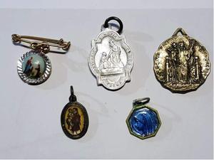 Set medagliette votive vintage