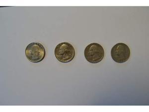 Stati Uniti - lotto composto da 4 monete