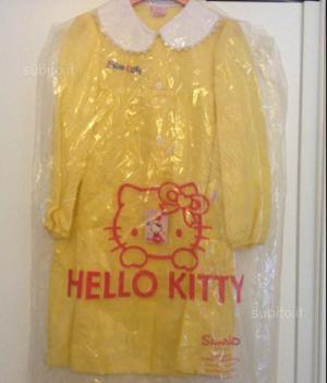 Grembiule scuola hello kitty vari colori nuovo