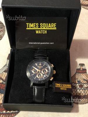 Orologio Cronografo Times Square