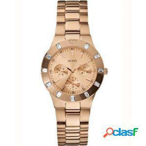 Orologio donna guess w16017l1 lady steel rose