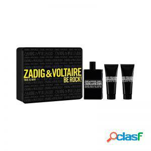 Zadig & voltaire this is him gift set 100 ml edt + 2 x 75 ml