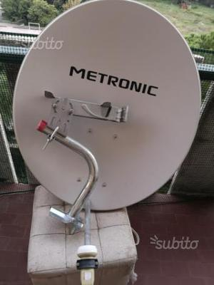 Antenna parabolica METRONIC + supporto metallico
