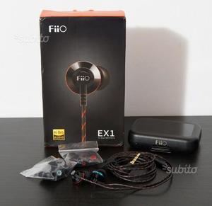 Cuffie In-Ear FiiO EX1-II (2nd Gen) - come nuove