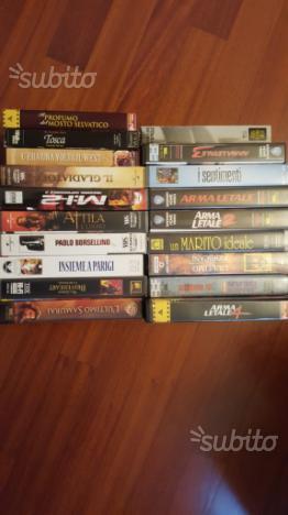 Film vhs videocassette