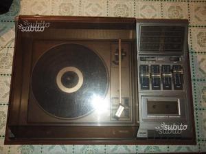 Giradischi radio cassetta philips music center 990