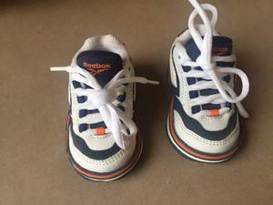 Scarpine Neonato Reebok Nuove Eu17 Bianche Scarpe Bimbi Baby