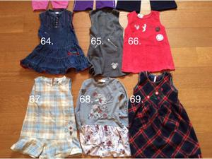 Vestiti bimba da 1 a 3 anni