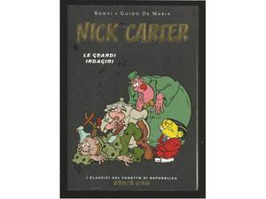 Nick Carter n. 17 Le grandi indagini Bonvi - De Maria