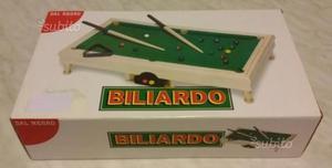Biliardo Dal Negro tavolo in legno alta qualità