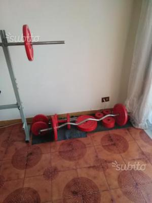 Panca e pesi nuovi