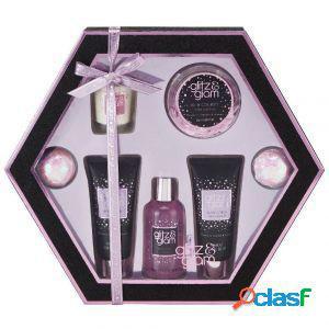 Style & grace glitz & glam beauty treat set regalo 7 pezzi