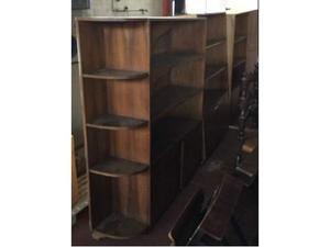 Libreria legno mobile con 3 moduli