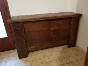 Credenza Rustica Verde : Mobile buffet credenza sideboard legno vintage posot class