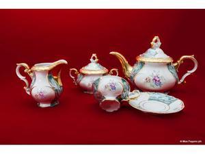 Servizio da 10 the/caffe/latte ceramica e porcellana bavaria