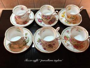 Servizio sei tazze da the + sei tazze caffe'