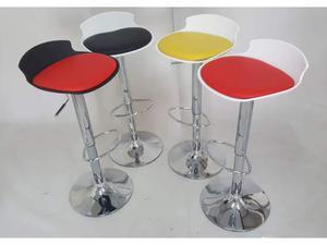 Sgabello moderno con schienale rotondo colori posot class