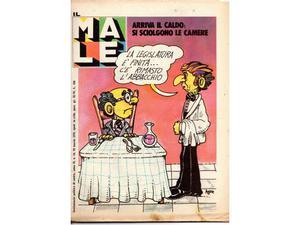 IL MALE periodico satirico wolinsky CHARLIE HEBDO
