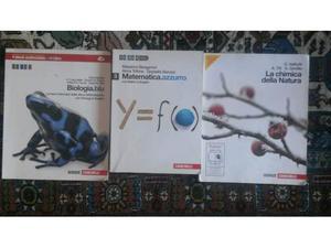 Libri di matematica biologia e chimica