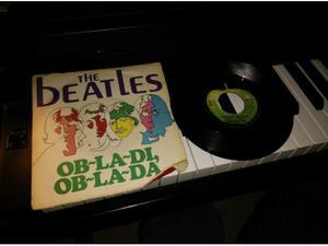 The beatles obladi, oblada beatles disco vinile 45 giri