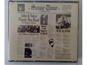 2XCD J.Lennon&Yoko Ono,Some Time In New York City  CDS