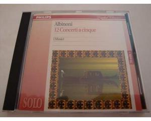 Albinoni - 12 concerti, Op.5 - I Musici - CD - DDD - Musica