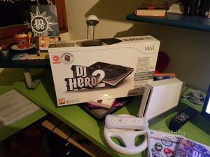 Consolle Wii con accessori e giochi originali