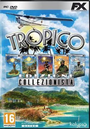 Gioco per PC: Tropico Edizione Collezionista