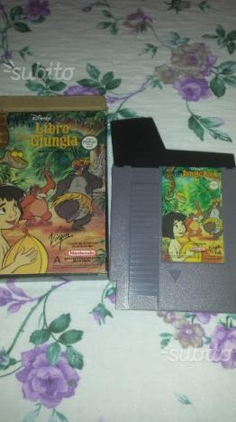 Il libro della giungla Nintendo NES ITA