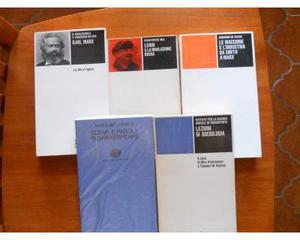 Lotto 5 volumi Einaudi (Marx, Adorno, Lenin, Shakespeare)