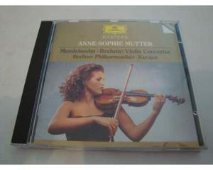Mendelssohn - Brahms - Concerti violino - CD - DDD - Musica