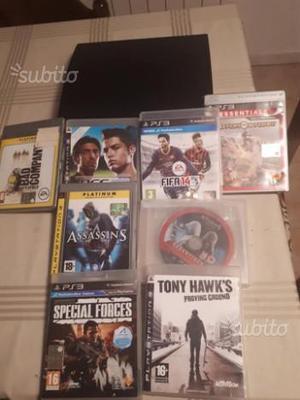 PS3 con 8 giochi