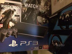 PlayStation 3 con 10 giochi e volante