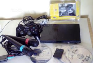 Sony playstation 2 ps2 slim 2 microfoni singstar