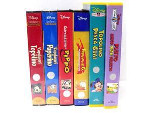 VHS originali vari per bambini