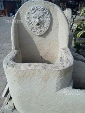 Fontane da giardino in pietra varie figure