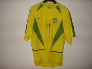 Maglia Brasile indossata Ronaldinho worn shirt