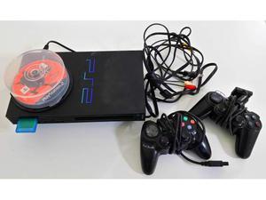 Playstation 2 con 2 comandi e 8 giochi