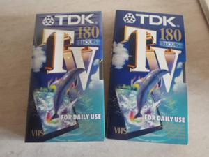 Videocassetta TDK 180 minuti