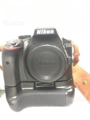 Nikon d con obiettivi e flash