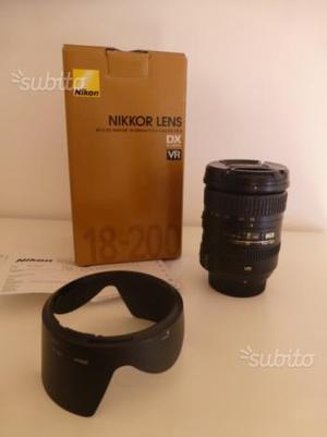Obiettivo zoom Nikkor mm VR II  Nikon