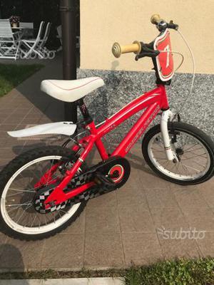 Bicicletta bimbo 4/7 anni