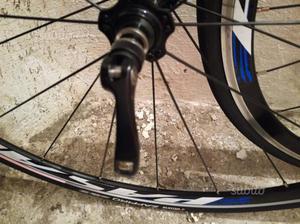 Cerchi bici da corsa alluminio