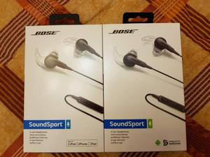 Cuffie Bose SoundSport nuove 1 Apple e 1 Android