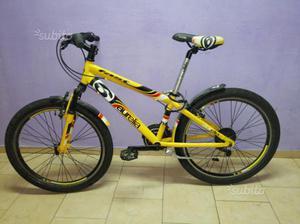 Mountain bike mtb ragazzo 24 fast boy bs Aurel