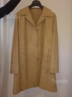 Giacca donna di Pierre Cardin in pelle di struzzo