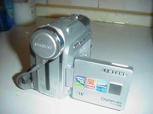 Videocamera samsung mini dv cassette telecamera digitale