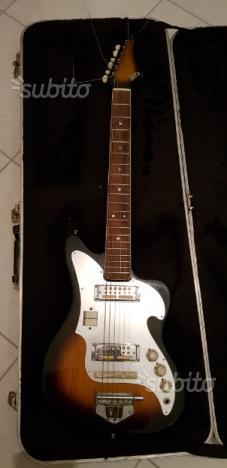 Chitarra elettrica vintagei Zenon anni 70