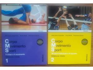 Corpo Movimento Sport 1 e 2 - Edizione mista