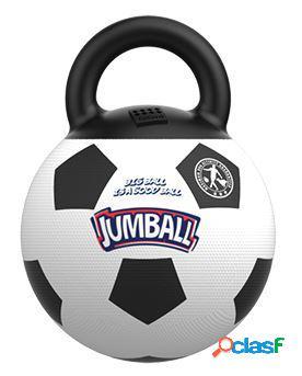 Gimpet gioco per cani palla da calcio jumball con maniglia